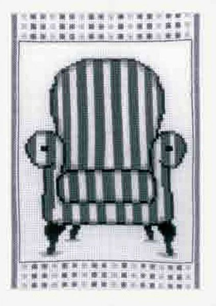 Barok Armchair  Cross Stitch Kit